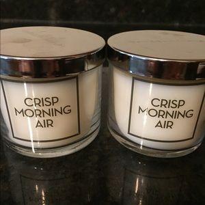 Crisp Morning Air Single Wick, 4 oz